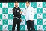 Dramatiškame teniso trileryje L.Grigelis turėjo pripažinti geriausio Norvegijos tenisininko pranašumą