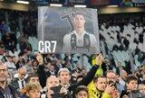 """C.Ronaldo efektas: """"Juventus"""" už milžiniškas sumas pratęsė sutartis su rėmėjais"""