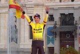 """P.Rogličius pirmą kartą karjeroje tapo prestižinių """"Vuelta a Espana"""" lenktynių čempionu"""