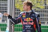 """S.Vettelis: """"Greitojo rato metu padariau klaidą"""""""