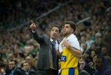 """""""Maccabi"""" atstovai po pralaimėjimo kalbėjo apie sudėtingus pataikytus """"Žalgirio"""" tritaškius"""