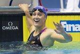 M.Belmonte pasaulio plaukimo taurės etape Vokietijoje pagerino planetos rekordą