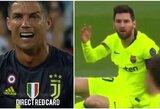 Dvigubi standartai? A.Robertsonas griebė L.Messi už galvos ir liko nenubaustas