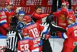 Rusijos ledo ritulio rinktinė Euroturo turnyre pralaimėjo trečias rungtynes paeiliui