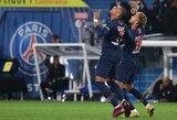 "K.Mbappe pelnė 4 įvarčius, o PSG nepaliko šansų ""Lyon"""