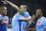 Italijos vicečempionai naująjį sezoną pradėjo užtikrinta pergale (+ kiti rezultatai)