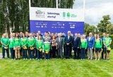Išlydėta Europos jaunimo olimpinio festivalio rinktinė