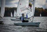 """Finišavo tarptautinė """"Rudens vėjo"""" regata: daugiausia medalių susišlavė svečiai iš Baltarusijos, Lietuvai pergalę iškovojo V.Andrulytė"""