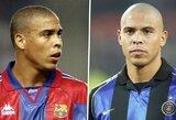 """Garsioji Ronaldo kelionė iš """"Barcelonos"""" į """"Inter"""": noras papietauti prieš kontrakto pasirašymą tapo lemtinga klaida"""