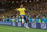 """Th.Silva tikisi, kad P.Coutinho taps naujuoju Brazilijos rinktinės lyderiu: """"Kai neliko Neymaro, mums jo labai reikia"""""""