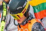 Kalnų slidinėjimo varžybose Austrijoje – A.Drukarovo sidabras
