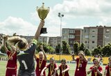 Baltijos taurėje – merginų U-15 rinktinės pergalė bei nacionalinės komandos antroji vieta