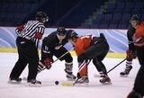 """Atkakliose rungtynėse """"Hockey Punks"""" pasiekė revanšą prieš """"Baltų ainius"""""""