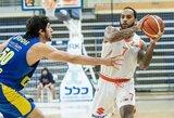 38 taškus įmetęs amerikietis nesutrukdė Tel Avivo klubui tapti Izraelio čempionu