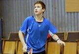 Badmintono turnyre Baltarusijoje – sensacinga 18-mečio lietuvio pergalė