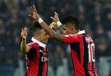 """""""Monaco"""" už S.El Shaarawy ir K.P.Boateną siūlo 60 mln. eurų"""