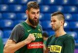 Lietuvos rinktinė – viena iš labiausiai nukraujavusių prieš FIBA atrankos turnyrą