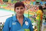 Pripažinimas: lietuvė V.Bašinskaitė teisėjaus parolimpinių žaidynių finale