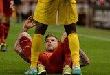 """""""Liverpool"""" klubas lieka be pergalės Europos lygoje (+ kiti rezultatai)"""