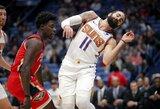 """R.Rubio išgelbėjo """"Suns"""" komandą pratęsime"""