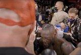 Pamatykite: pasirodė vaizdo įrašas, kuriame užfiksuotas T.Fury ir D.Wilderio pokalbis po kovos