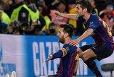 """Fantastišką įvartį pelnęs L.Messi išliko kuklus: """"Man pasisekė"""""""