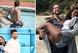 20 nuotraukų, kuriose atletai užfiksuoti nejaukiose situacijose su savo draugėmis ar žmonomis