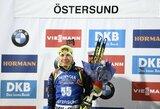 Pasaulio biatlono taurės etape Švedijoje – labai prastas lietuvių pasirodymas ir pirma baltarusės pergalė karjeroje