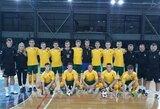 Lietuvos jaunimo salės futbolo rinktinė du kartus nusileido prancūzams