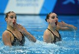 """Pasaulio čempionė apie dailiojo plaukimo realybę: """"Jokių tatuiruočių ir lūpų putlinimo"""""""