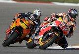 M.Marquezas penktus metus iš eilės laimėjo JAV GP lenktynes, V.Rossi tapo čempionato lyderiu