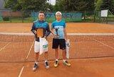 Jaunieji Lietuvos tenisininkai dominavo tarptautiniame turnyre Šiauliuose