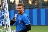 E.Zubas šventė pergalę Turkijoje, M.Adamonio klubas Italijoje pakilo į pirmą vietą