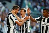 """G.Buffonas atrėmė baudinį, """"Juventus"""" sezoną pradėjo triuškinančia pergale"""