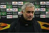 """""""Tottenham"""" rankos surištos: J.Mourinho atleidimas kainuotų milžiniškus pinigus"""