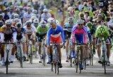 Antrajame dviračių lenktynių Prancūzijoje etape lietuviai finišavo kartu su pagrindine grupe