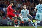 """Pokalbį su C.Ronaldo atskleidęs M.De Ligtas: """"Jis klausė, ar norėčiau persikelti į """"Juventus"""""""