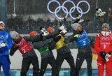 Vokiečiai olimpinių aukso medalių skaičiumi Pjongčange vėl pavijo norvegus