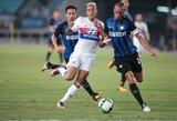 """""""Inter"""" klubas nugalėjo """"Lyon"""" ekipą"""