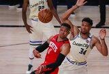R.Westbrookas turėtų praleisti NBA atkrintamųjų startą