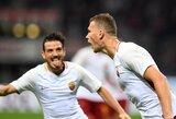 """Italijoje """"Roma"""" paskutinėmis minutėmis iškovojo pergalę prieš """"Torino"""""""