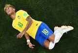 """Buvęs rinktinės žaidėjas: """"Neymaras daro gėdą Brazilijos rinktinės 10-ajam numeriui"""""""
