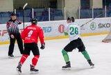 """""""Kaunas Hockey"""" treneris B.Haakė apie komandos nario emocijų proveržį: """"Diskvalifikacija visam sezonui"""""""