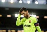 Legendinio futbolininko Ronaldo verdiktas: L.Messi turi būti tiek pat kritikuojamas dėl nesėkmių, kaip ir aukštinamas dėl pergalių