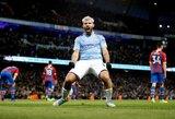 """Manchester City"" gali prarasti S.Aguero ir L.Sane"