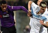 """""""Fiorentina"""" ir """"Lazio"""" komandų dvikovoje užfiksuotos lygiosios"""