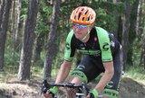 """Dviratininkas R.Navardauskas šeštajame """"Tirreno – Adriatico"""" etape finišavo vienuoliktas"""