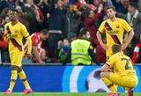 """""""Barcelonos"""" prezidentas užstojo Q.Setieną ir žaidėjus dėl pasitraukimo iš taurės"""