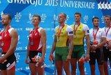 Istorinė diena: Universiadoje net keturios Lietuvos irkluotojų įgulos iškovojo aukso medalius!