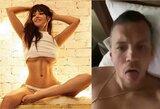 """""""Playboy"""" modelis apie skandalingą A.Dziubos vaizdo įrašą: """"Visi jam pavydi dydžio"""""""